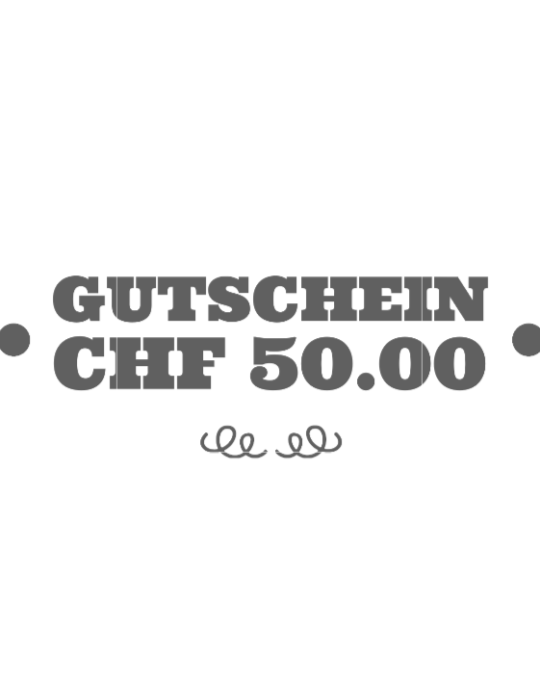 Gutschein CHF50