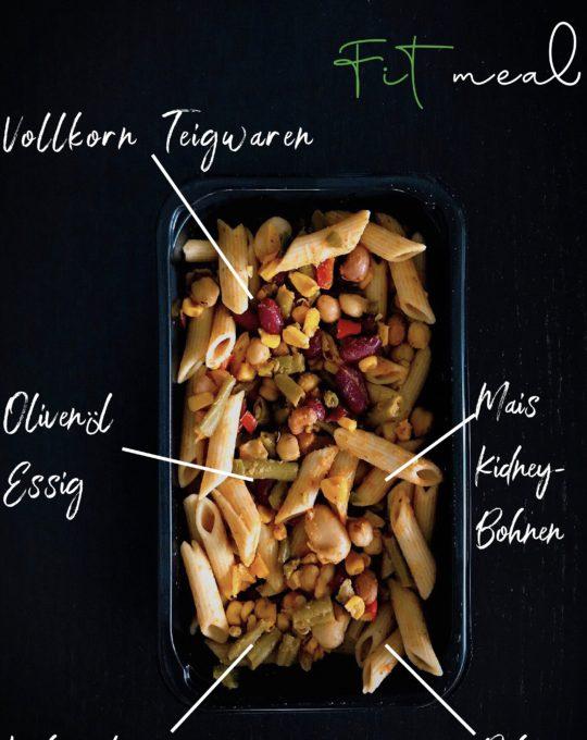 pasta- bohnen salat